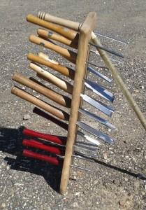 Polelathe Tools
